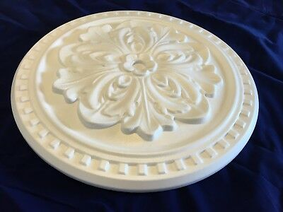 40 cm OCTAGONALCeiling Rose Polystyrene Easy Fit Very Light Weigth