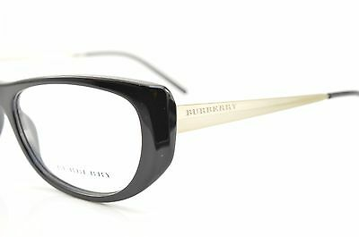 �� B 2168 3001 New Authentic BURBERRY Rx EYEGLASSES FRAME 53-16-135 Italy
