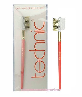 Technic Cosmetic : Lash Comb & Brow Brush Pink