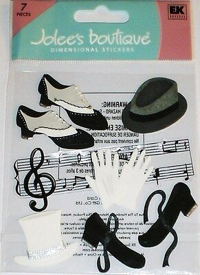 Jolee's Boutique Dimensional Stickers ~Jazz And Tap