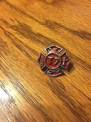 FIREFIGHTER HOOK & LADDER PIN # T 7 As Pictured ,NEW !