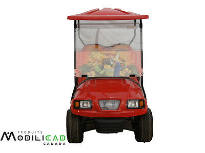 Windshield for golf cart Club Car Precedent Margarita Parrots