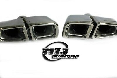 Mercedes Benz AMG Style Twin Tail Pipes C E S Class BLT858-01