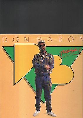 DON BARON - young gifted and black LP