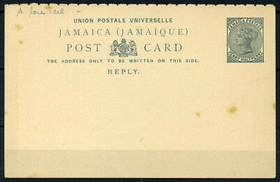 15-10-00814 - Jamaica 1890 Mi.  2 POS 100% Postal stationery - Post Card