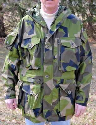 Medium Arktis B221 Special Forces Swedish Kommando Parka SAS 14 Pockets!