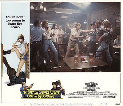 The Night The Lights Went out in Georgia 1981 Original Movie Poster Drama