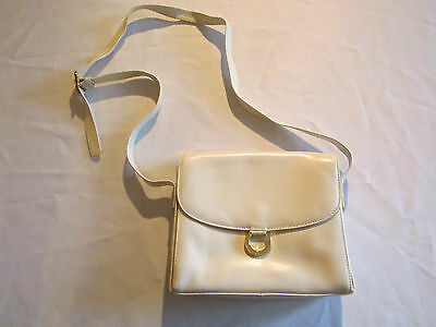 Luxe Femme En Cleo Cuir Blanc Neuf Sac Mode A Main Superbe Comme c34L5RqAjS