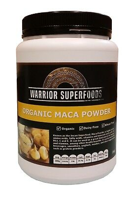 Warrior Superfoods Raw Organic Peruvian Maca Powder 1kg - Best Before DEC 2020