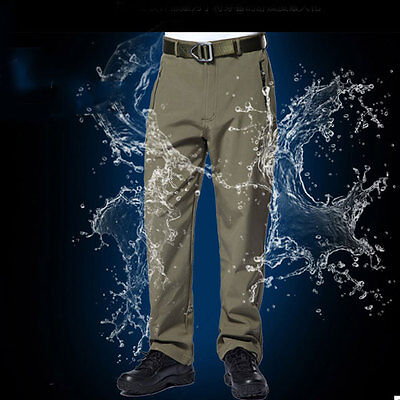 Men Combat Trouser Army Camo Cotton TAD Shark Skin Sportwear Casual Pant Outdoor