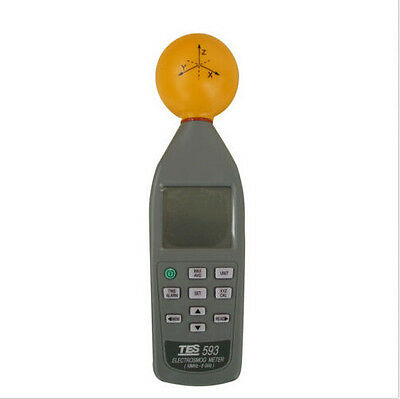 TES593 Electrosmog RF Microwave Meter up to 8Ghz EMF TES-593