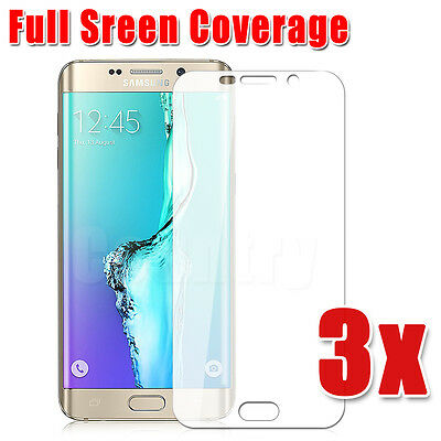 Full Coverage for SAMSUNG GALAXY S6 EDGE PLUS Screen Protector Ultra Clear 3X