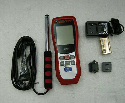 SENTRY ST-730 Hot Wire IR thermo-Anemometer ST730