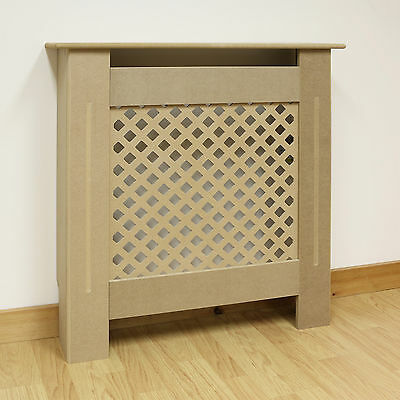 Hartleys Traditional Mini/X Small Size Radiator Cabinet/Cover MDF Wood Unpainted
