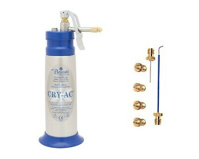 Brymill Cry-Ac 16 oz Liquid Nitrogen Storage System Device B700 500 ML, NEW