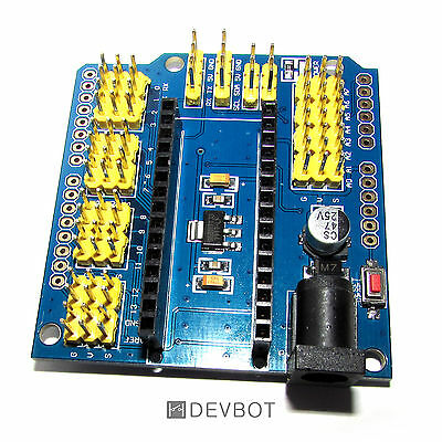 Shield d'extension Arduino Nano. DIY, prototypage, domotique