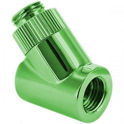 "Monsoon G1/4"" Rotary 45° Fitting for 1/2"" (13mm) OD Fittings : RO-45-12-GR"