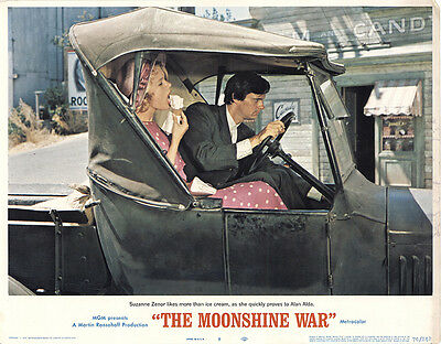 The Moonshine War 1970 Original Movie Poster Richard Widmark Comedy Crime Drama