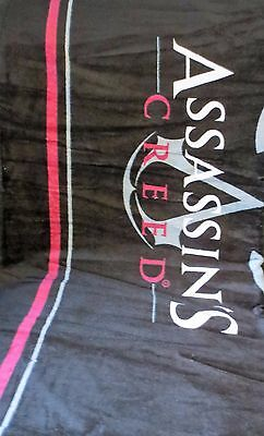 ASSASSINS CREED Jumbo TOWEL 100% Cotton Bath Beach USA Video Game Fathers Day