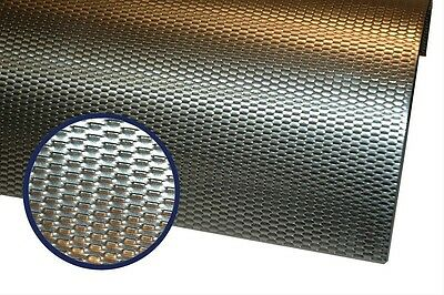 "Thermo-Tec 11720 Exhaust Wrap Heat Shield Aluminum Micro Louver 24"" x 24"""