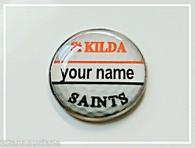 anneys - your OWN PERSONALISED  **Saints** golf ball marker!!