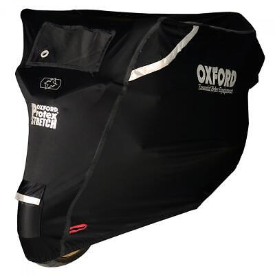 Oxford CV160 Protex Stretch Premium Stretch Fit Outdoor Motorcycle Cover Small