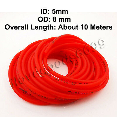 10 meters Fuel Hose Line Pipe Pit Bikes ATV Quad Go Kart Scooter Motorcycle Red