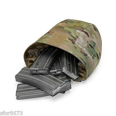 Elite Ops Large Roll Up Magazine Dump Pouch Gen 2 Multicam Black Coyote Tan