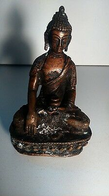 Old asian statue. Ancienne statue asiatique BRONZE
