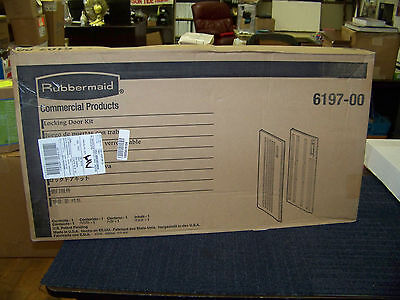 Rubbermaid Locking Door Kit for Full Size and Compact Housekeeping Carts 6197-00