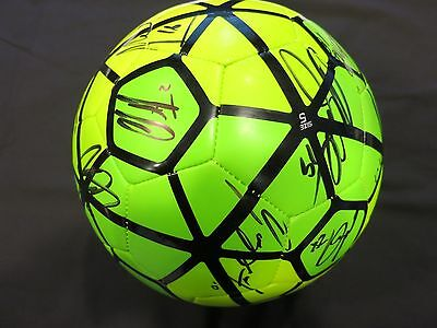 Seattle Sounders Signed Soccer Ball By 2015 Team Coa + Proof! Clint Dempsey Usa