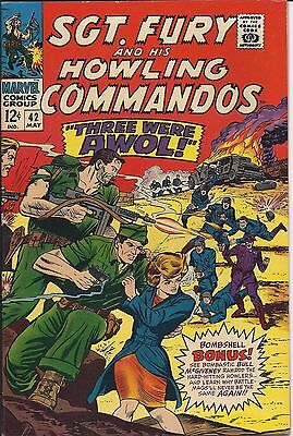 Sgt. Fury And His Howling Commandos #42 in NM