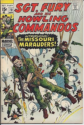 Sgt. Fury And His Howling Commandos #70 in NM