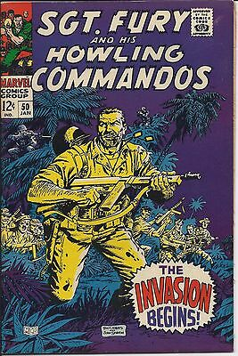 Sgt. Fury and his Howling Commandos #50 in NM