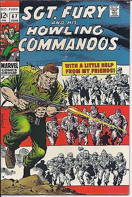 Sgt. Fury And His Howling Commandos #67 in VF