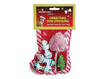 (80p cost) 36 x Christmas Dog Stockings Gift Treat Xmas - Clearance Wholesale