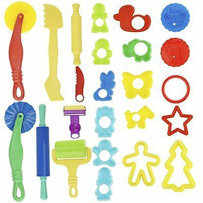 Play Dough Toys Set Kids Gift Fun Pack Colors Craft Plastic Toy Tools Play Doh