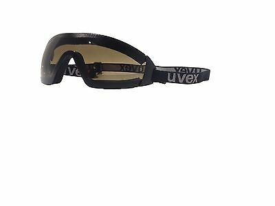 Brand New uvex Jockey Horse Riding Racing Goggles Tinted Anti-Fog Shatterproof