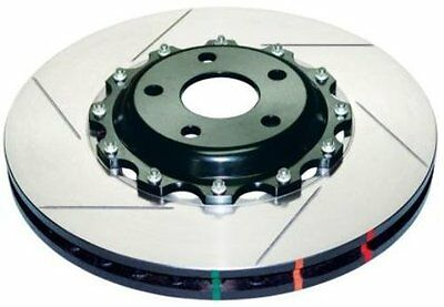 DBA (5654BLKS-10) 5000 Series 2-Piece Slotted Disc Brake Rotor with Black Hat, F