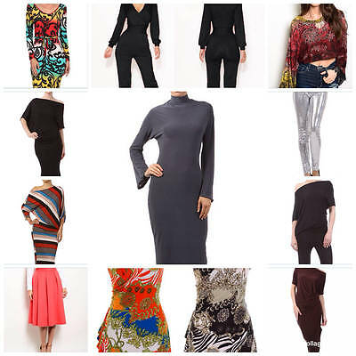 35pc wholesale fashion pants jumpsuits dresses sequined midi skirt tops $ gifts