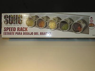 Chef's Speed Rack By Soho 18/8 SS Kitchen Spice Rack Professional Kitchen