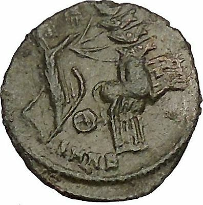CONSTANTINE I the GREAT in Chariot to Heaven Ancient Roman Coin i53012