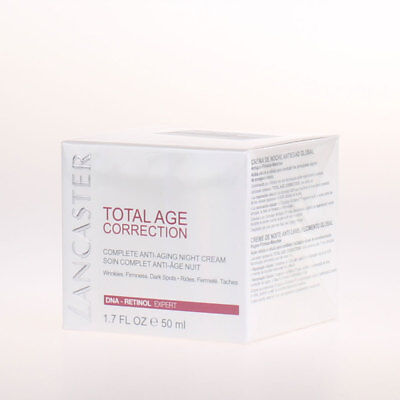 Lancaster Total Age Correction Complete - Anti-Aging Night Cream 50ml
