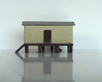 QR A2 GOODS STORE SHED Station Building 58x46mm N 1/160 scale Laser Wood kit MTB