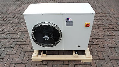 New 2.5Hp Zb19Ke Scroll Low Noise Housed Condensing Unit, R404A, 240V, Chiller,