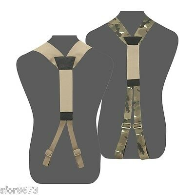 Elite Ops Slim Line Harness Battle Belt Support Suspenders Molle Body Armour