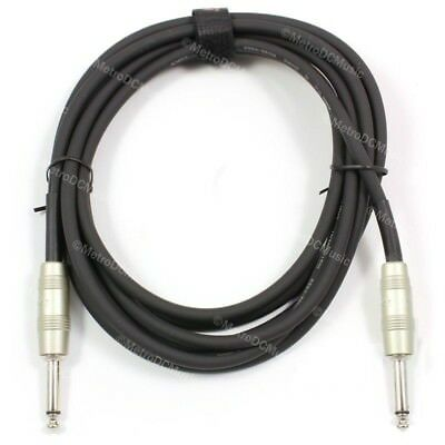 Kirlin 6ft Patch Cable Electric Cord Guitar Instrument +Free Cable Tie NEW