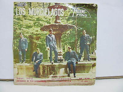Los Murcielagos - Sigue, Sigue - Satisfaccion - Portada Alternativa - EP - VG/G