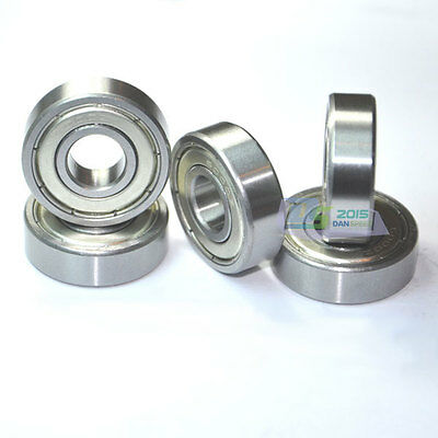 1pc Roller Bearings 6005 ZZ Metal Sealed Deep Groove Ball Bearing 25x47x12mm