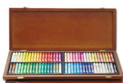 Mungyo Gallery Oil Pastels Wood Box Set of 72 standard - Assorted Colors